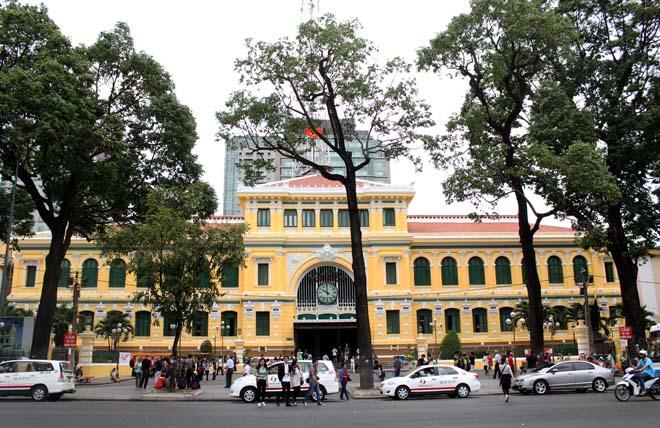 Bưu điện TP HCM