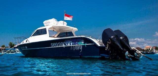 Du thuyền thăm vịnh Bali của Indonesia