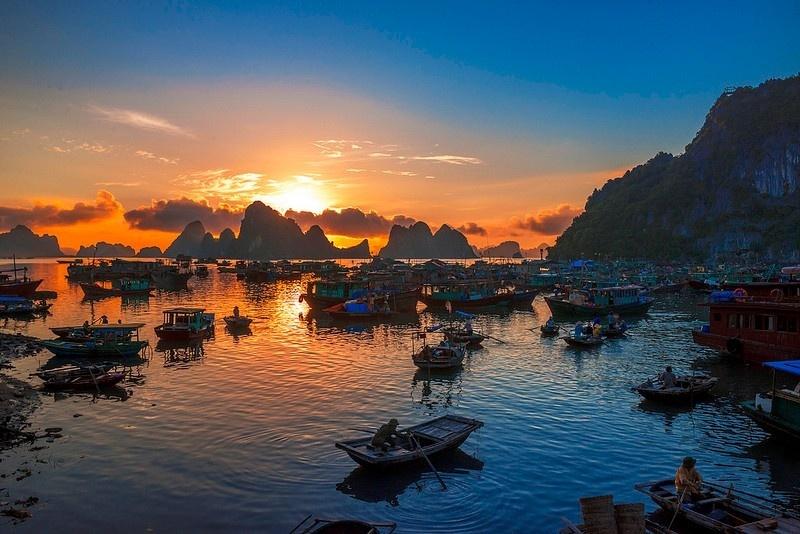 Hoàng Hôn trên Đảo Cô tô - Quảng Ninh