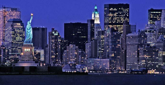 thành phố newyork về đêm