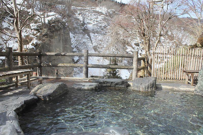 Suối nươc nóng Nhật  Bản