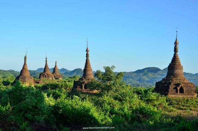 Bộ sưu tập ảnh đẹp thành phố cổ Bagan - Myanmar