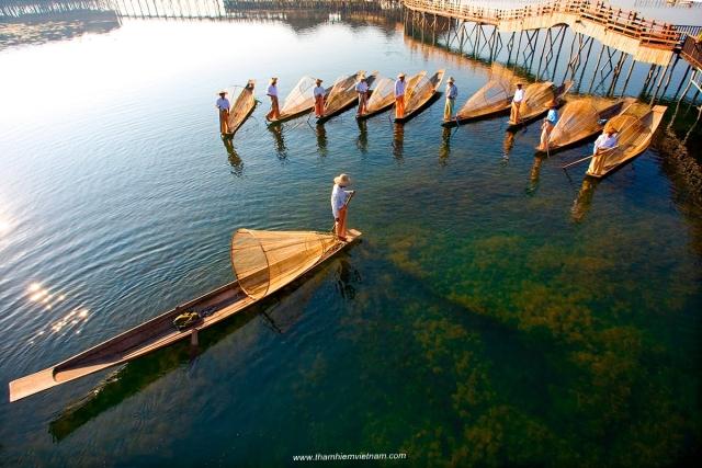 Hồ Inle - Myanmar