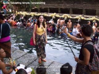 tham quan bali, indonesia
