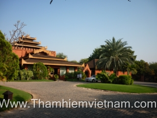 Resort _ Bagan - Myanmar