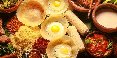 Kết quả hình ảnh cho Hoppers trứng sri lanka