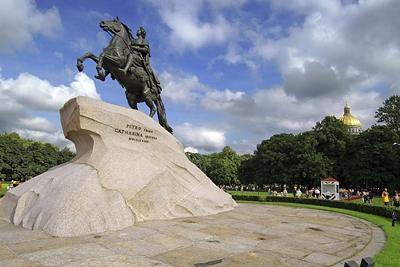 Du lịch Nga: Tượng đài – Người Kỵ Sĩ Bằng Đồng