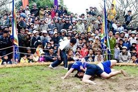 Hội vật làng Yên Nội