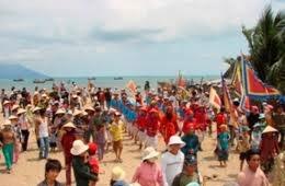Tục thờ thần và lễ cầu ngư làng Hội Thống