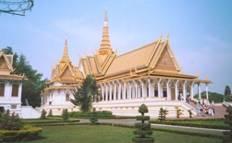 Du lịch Campuchia: Cung điện hoàng gia Campuchia
