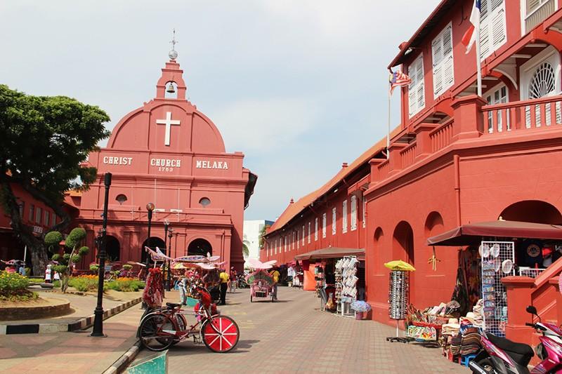 Tour Malacca thành phố cổ nhất Malaysia 4 ngày 3 đêm